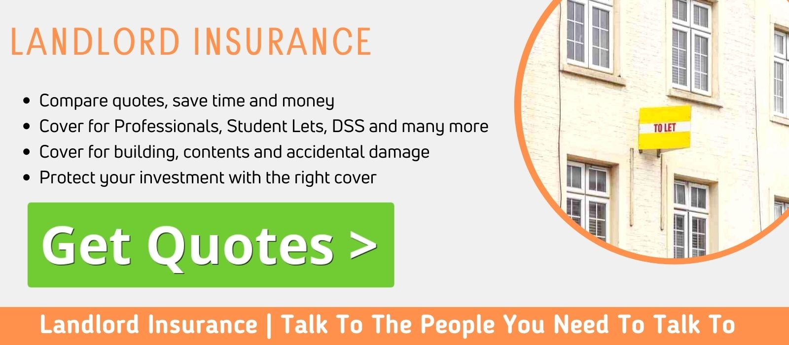Compare landlord insurance with the best names in the game - click here for a quick quote?