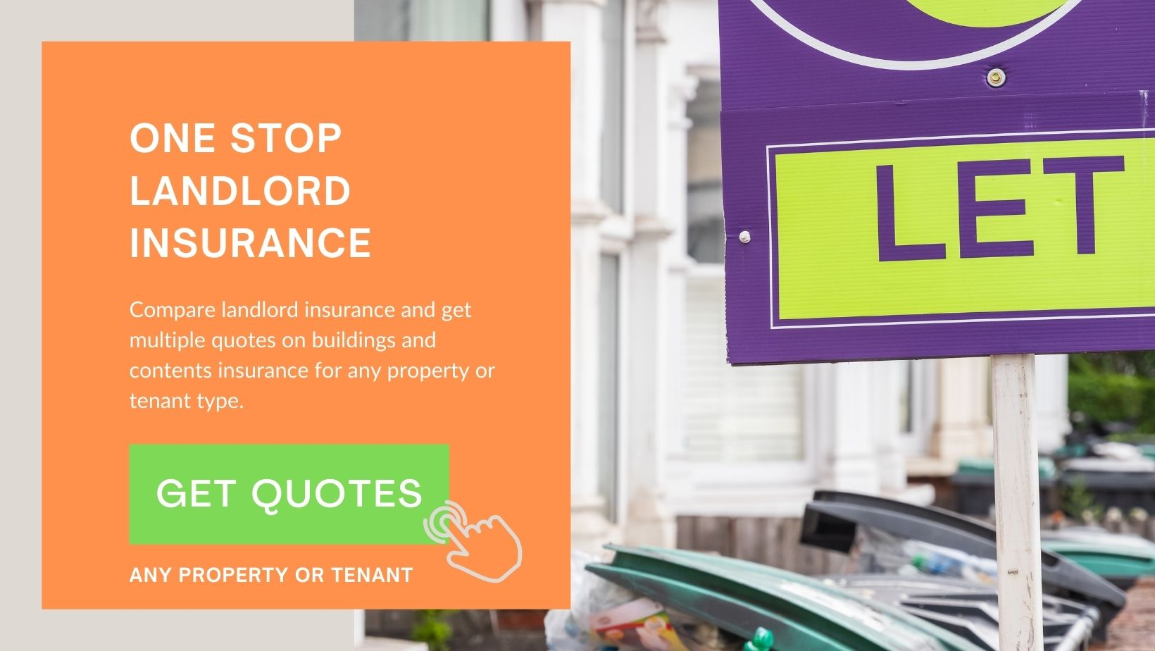 Start your landlord insurance quote - click here.