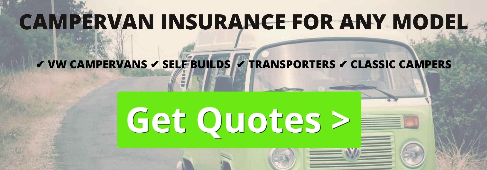 Using campervan insurance brokers