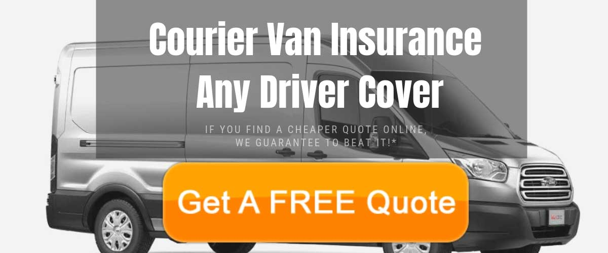 Courier Van Insurance Any Driver Cover