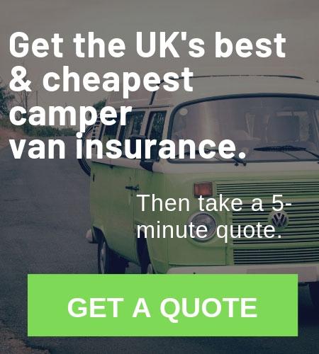 Camper van insurance quote