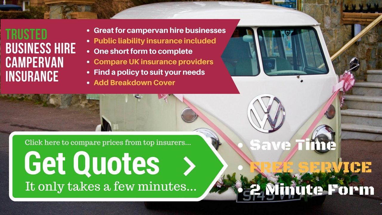 Compare business campervan insurance
