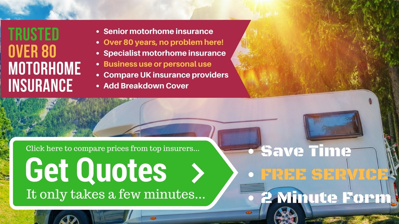 Campervan Insurance for Over 80 Years Old