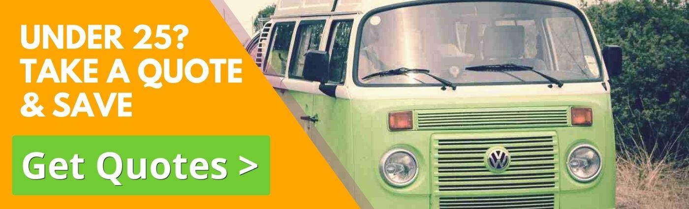 Campervan Insurance for Under 25 Year Olds