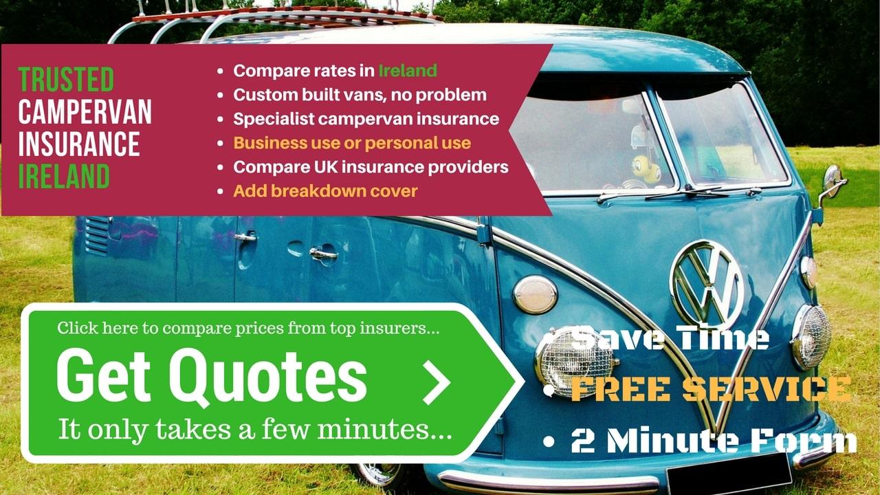 Compare campervan insurance in Ireland