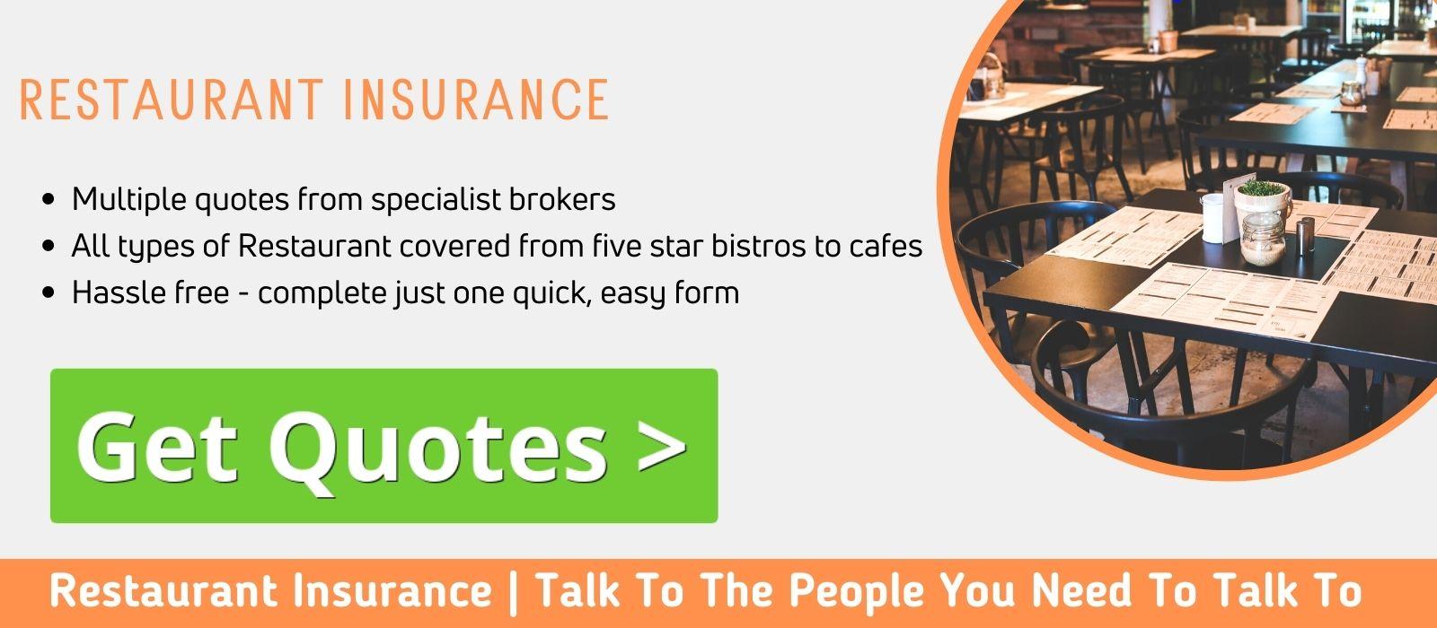 Restaurant Insurance Comparison