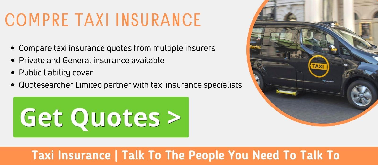 Compare Taxi Insurance Prices