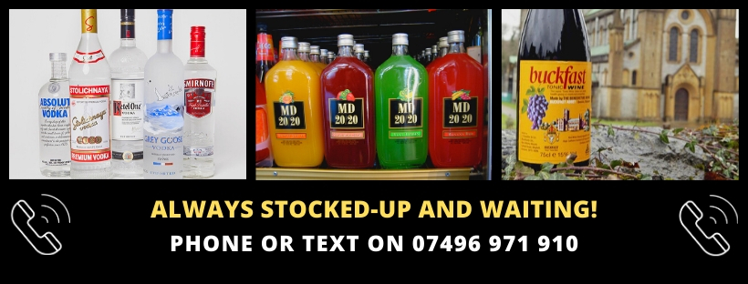 Phone The Dial a Drink Wishaw Number - click here
