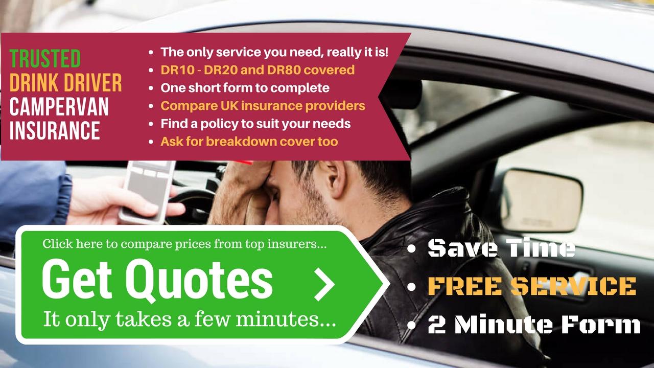 Drink Driver Campervan Insurance