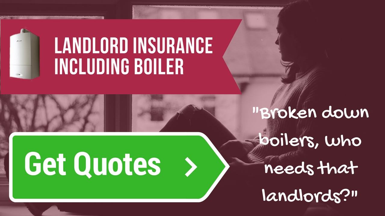 Landlord insurance including boiler breakdown cover*