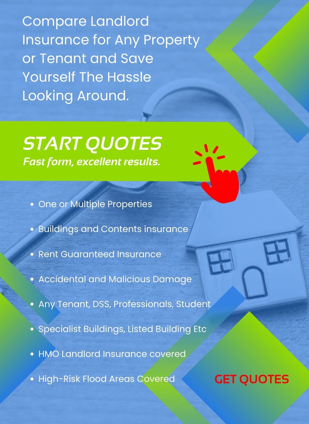 Landlord insurance for flat roof properties
