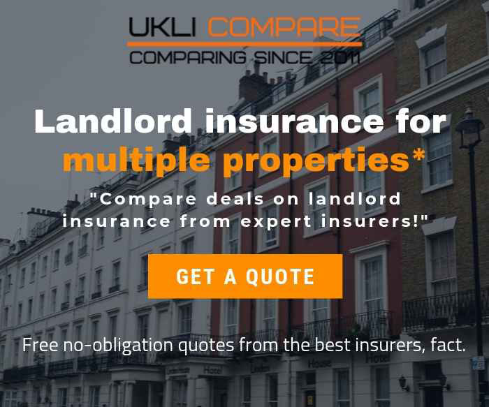 Guide on landlord insurance for multiple properties*