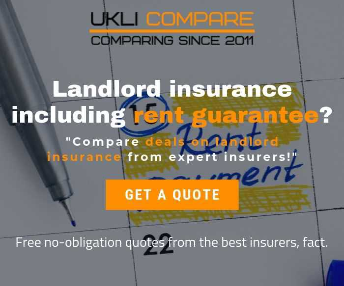 Landlord insurance including rent guarantee*