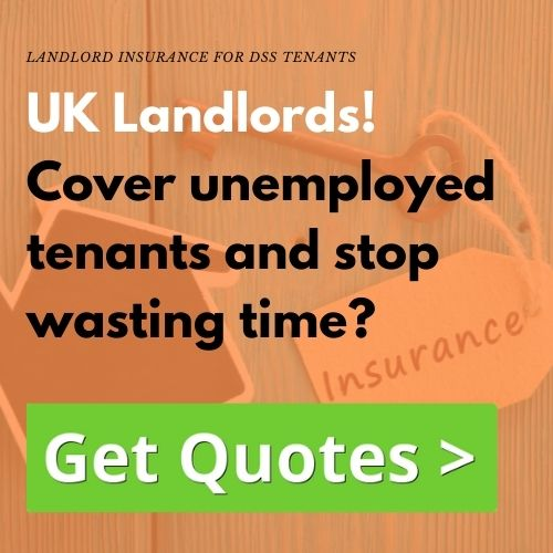 Landlord insurance for DSS tenants need certain cover and your luck to had the expert here waiting to help you.