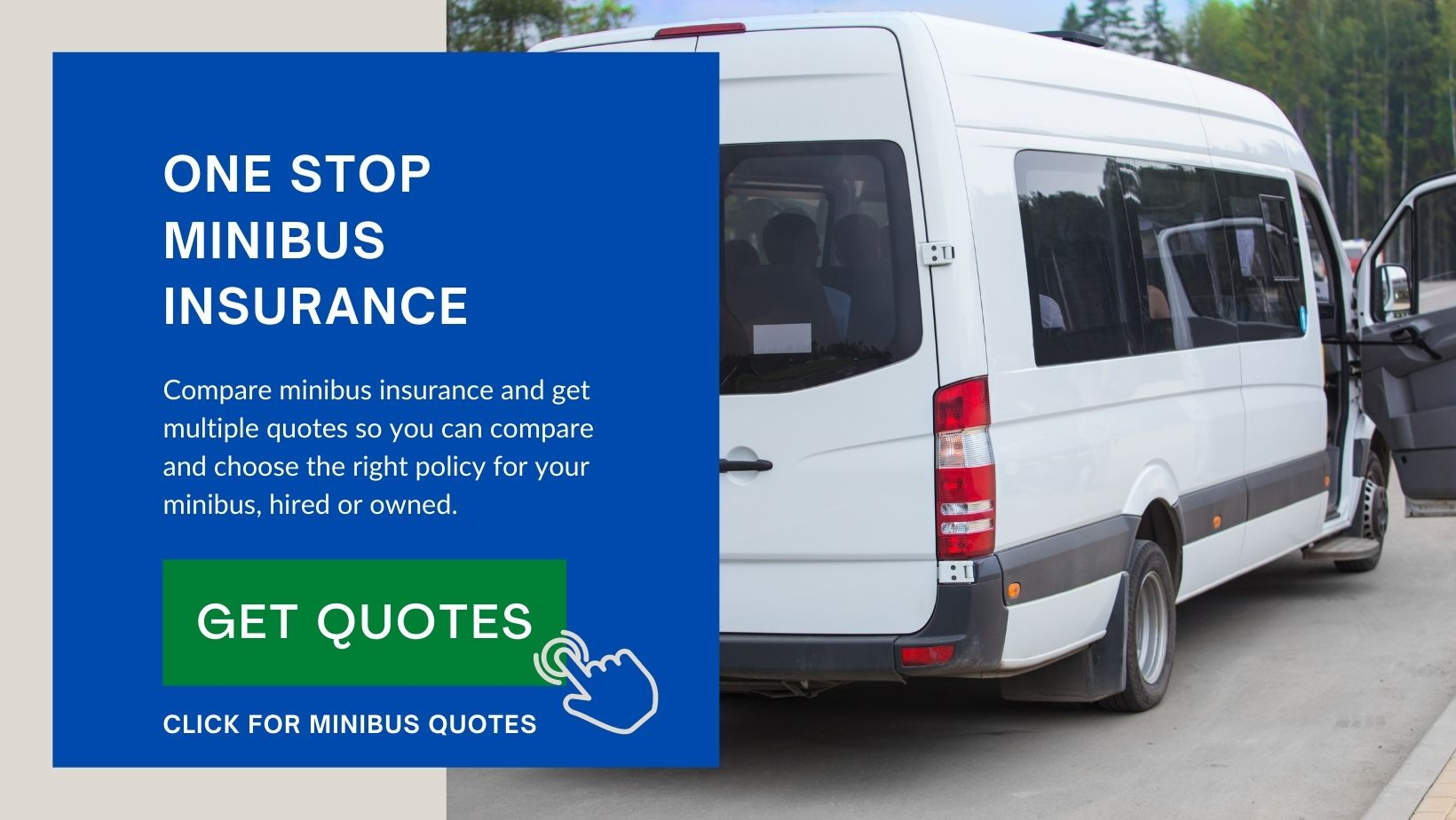 Compare quotes on minibus insurance for private or business use and fast!