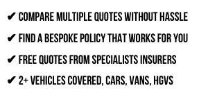 Compare Motor Fleet Insurance*