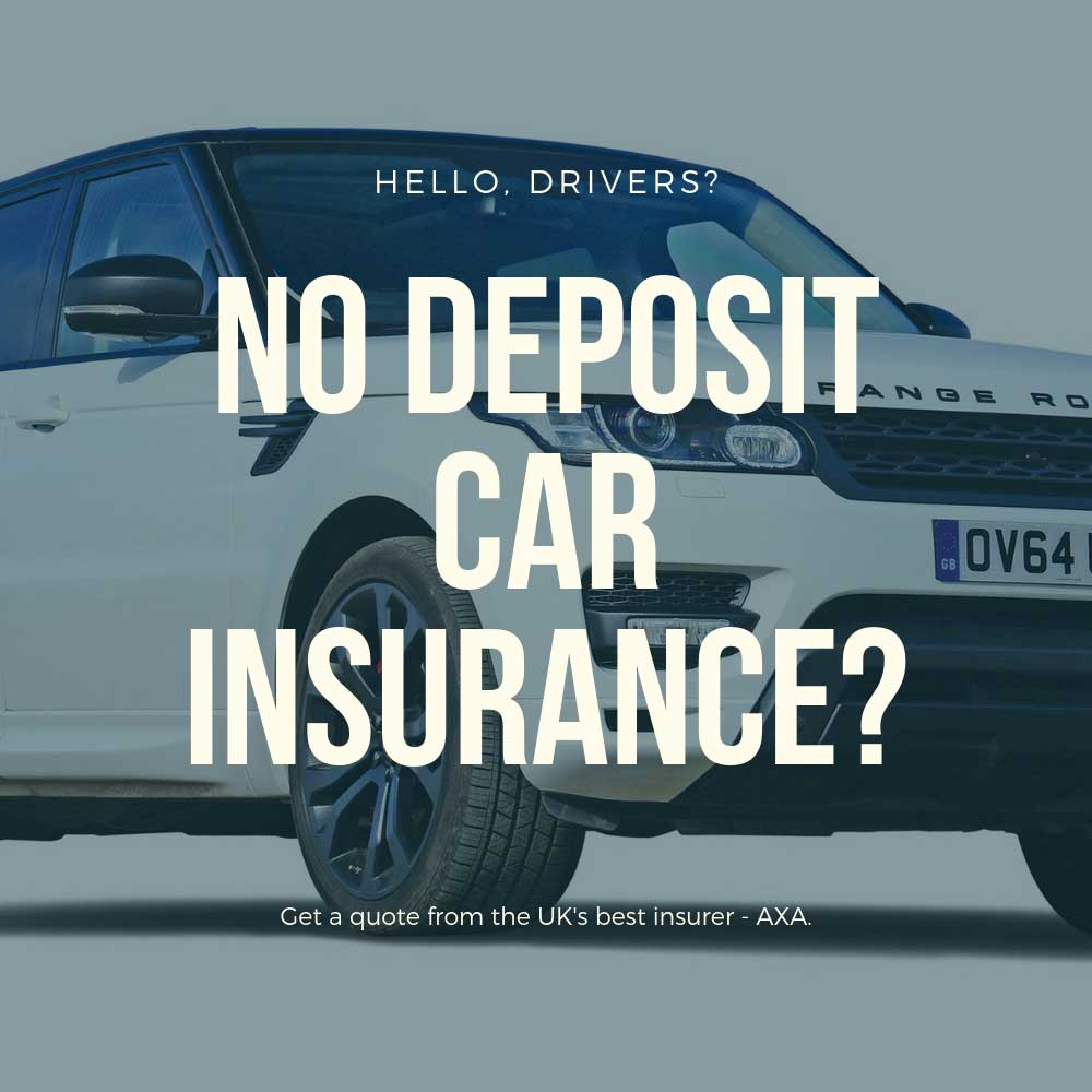 Get a no deposit insurance quote