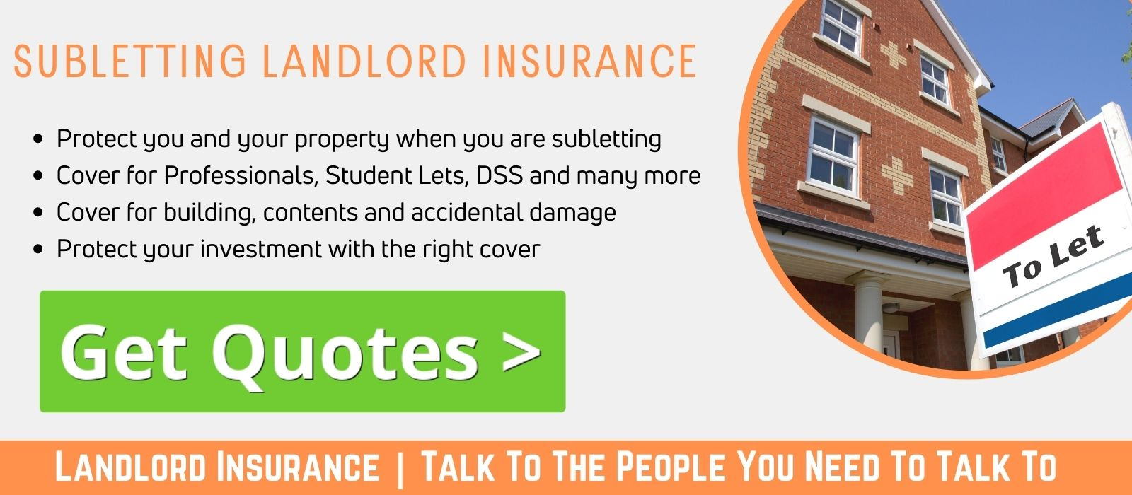Subletting landlords insurance cheaper than the rest at UKLI Compare