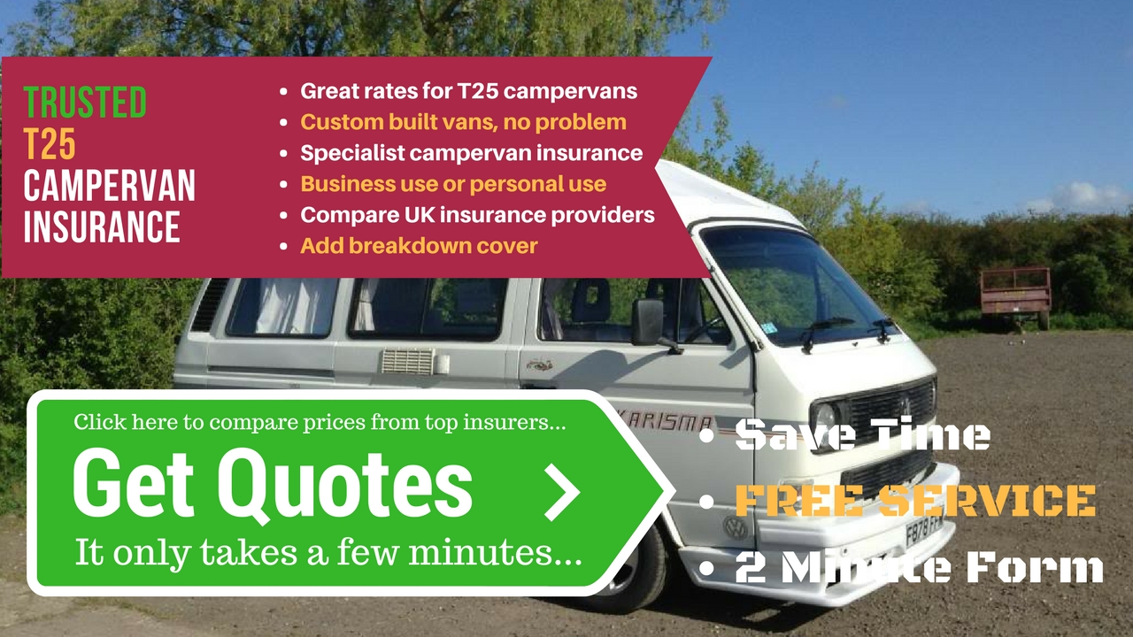 T25 campervan insurance quotes