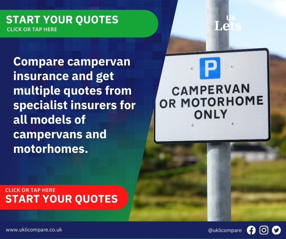 Compare campervan insurance quotes with top UK insurers and fast!