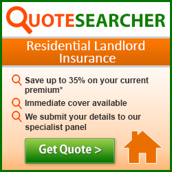 Buy-to-let landlord insurance from QuoteSearcher - get a quote...