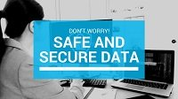 Your data is safe and secure
